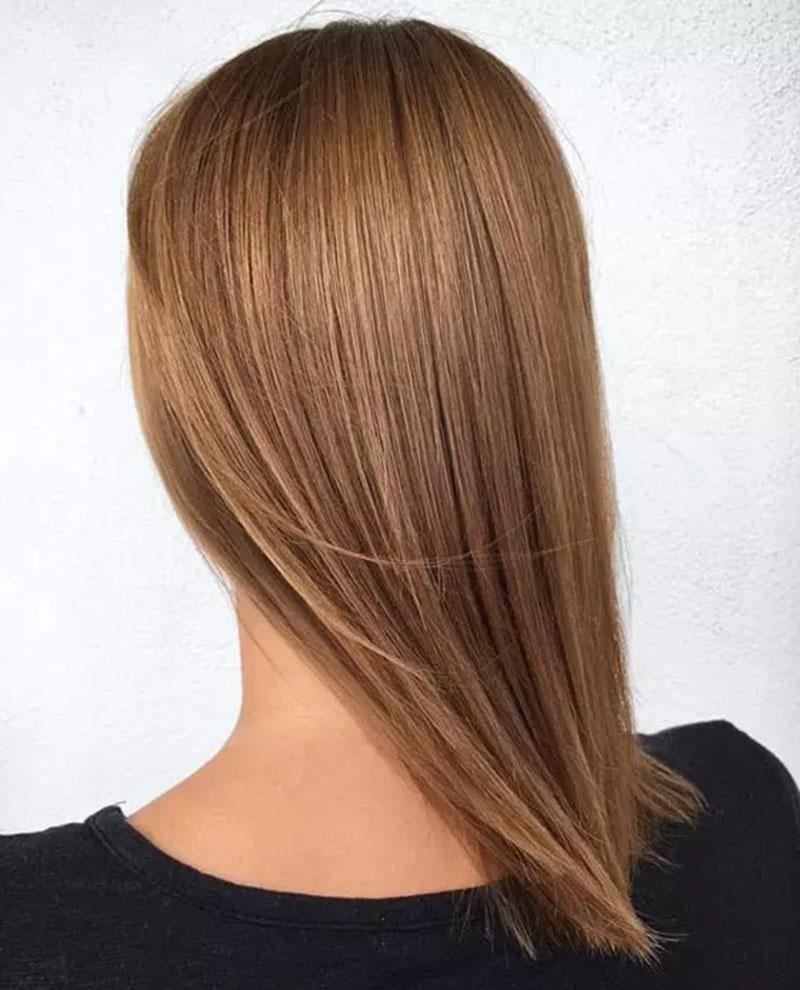 Tóc vàng trung bình