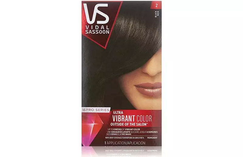 Vidal Sassoon Pro Series Ultra Vibrant Color – 2 Black