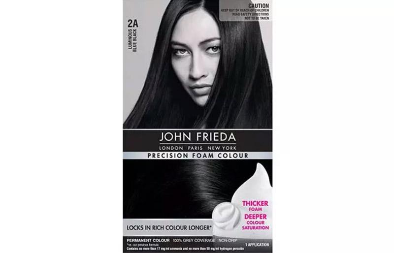 John Frieda Precision Foam Colour – 2A Luminous Blue Black
