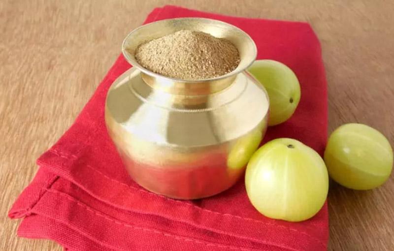 Bột Amla và dầu dừa