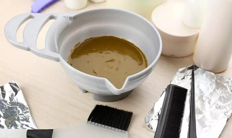 Bước 2: Chuẩn bị hỗn hợp henna