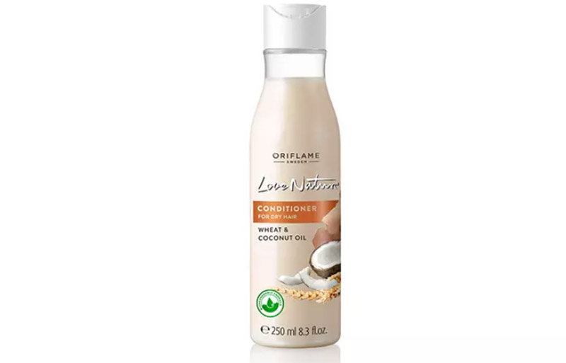Dầu gội dầu dừa và lúa mì Oriflame Love Nature