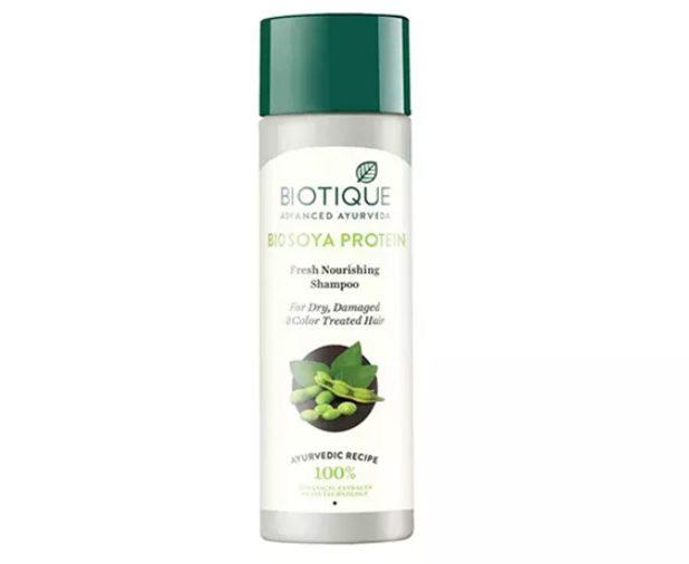 Dầu gội nuôi dưỡng tóc Biotique Bio Soy Protein