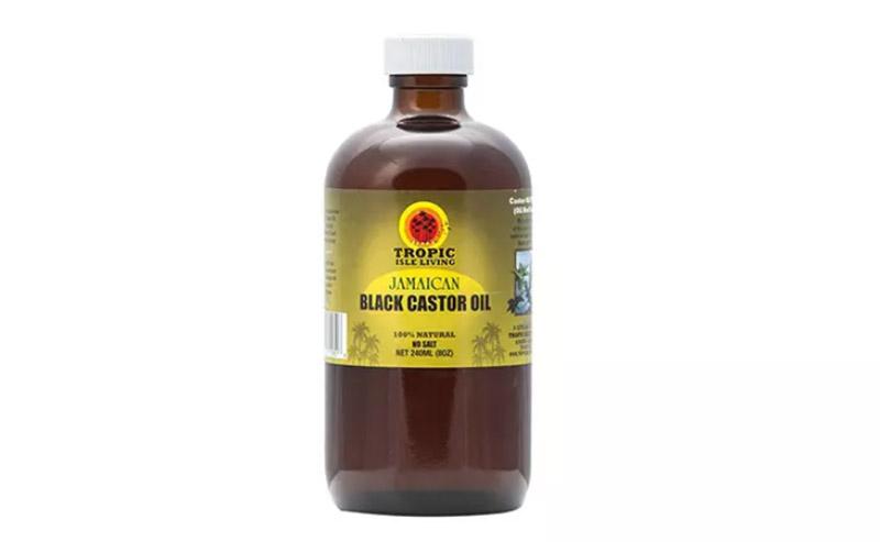 Dầu thầu dầu đen Jamaica cho tóc phát triển và mọc dày