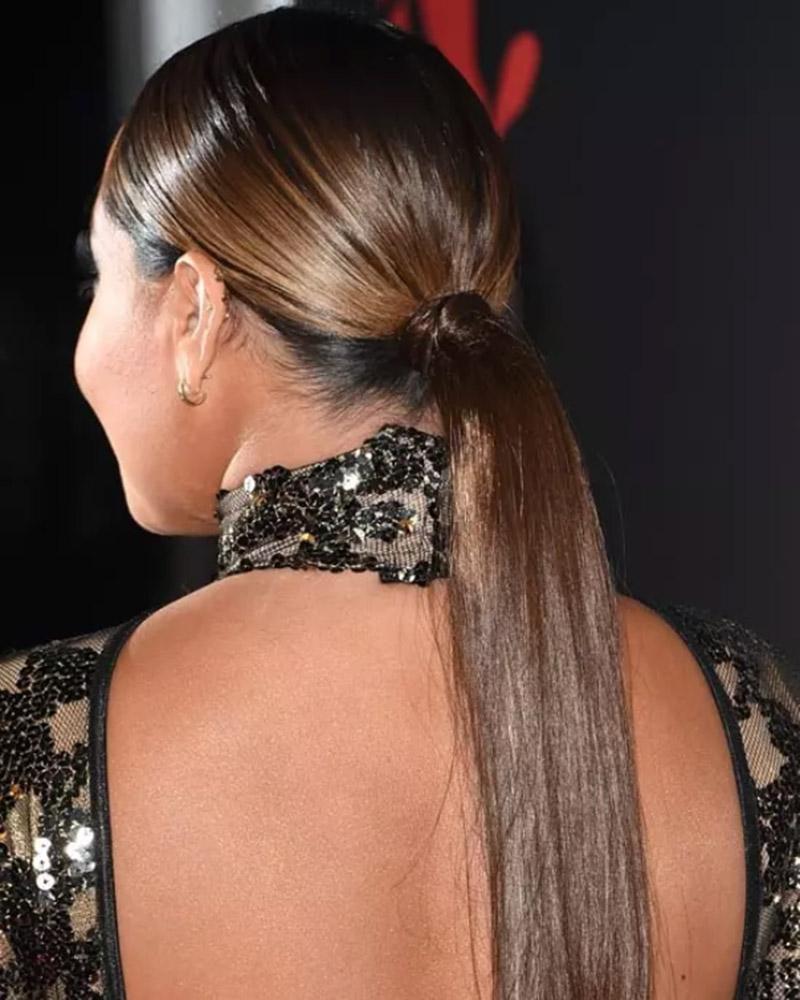 Kiểu tóc đuôi ngựa bóng mượt