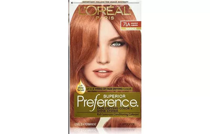 L'Oreal Paris Superior Preference Color – Lightest Auburn