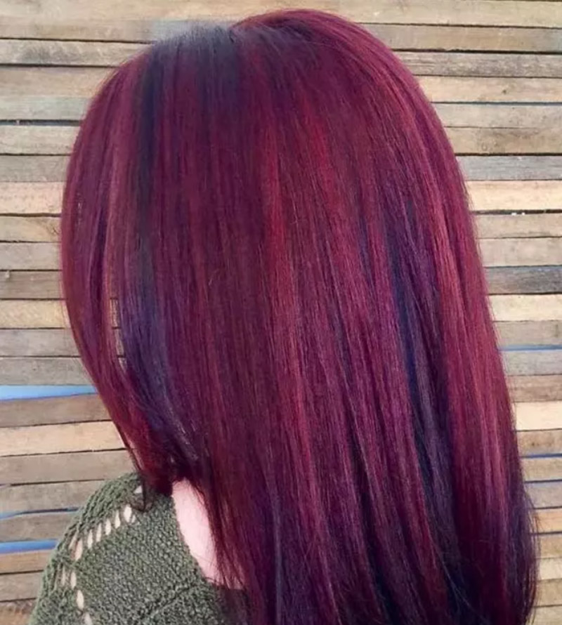 Mahogany đỏ rực