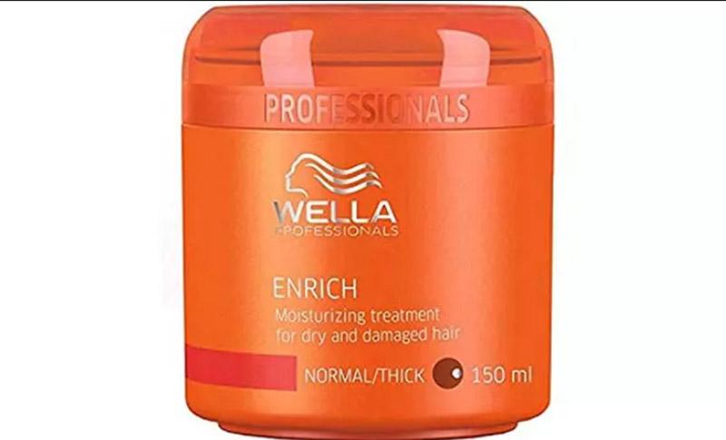 Mặt nạ Enrich Moisturizing Treatment Wella Professionals dành cho tóc khô và hư tổn