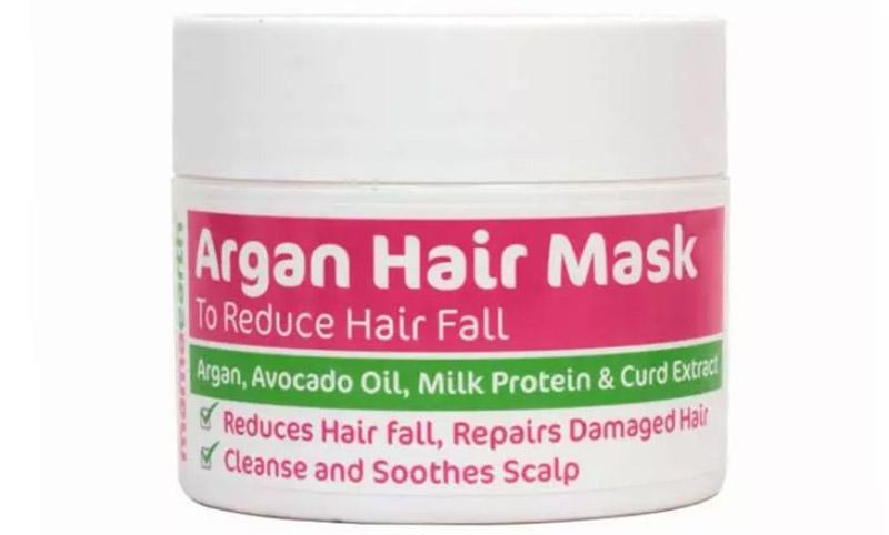 Mặt nạ tóc Mamaearth Argan