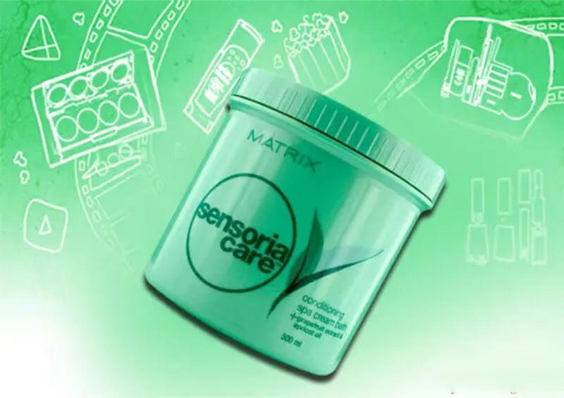 Matrix Sensoria Conditioning Spa Cream Bath
