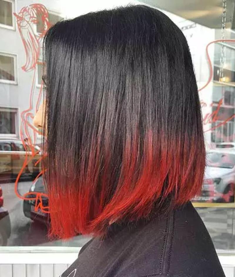Màu đỏ óng ả