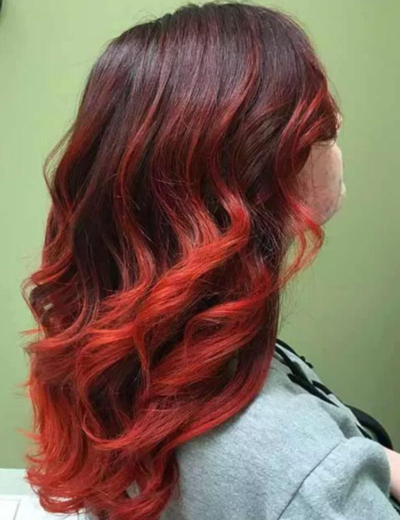Màu đỏ san hô