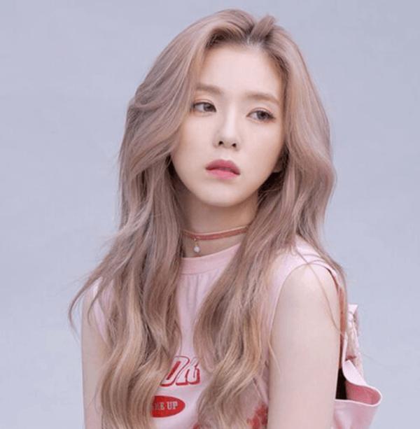 Màu tóc vàng hồng