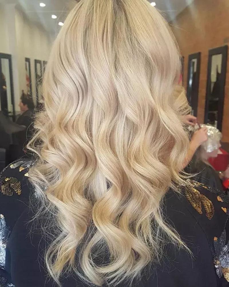 Màu tóc vàng nhạt