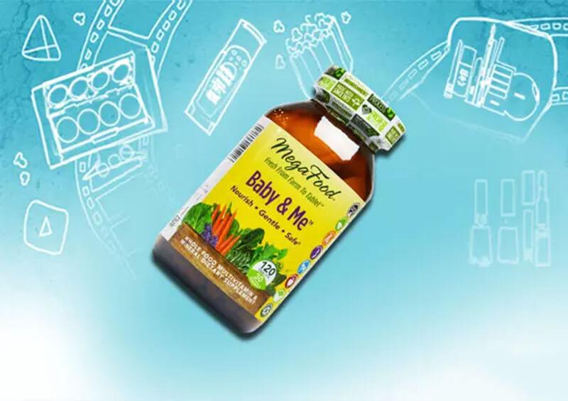 Megafood Baby & Me Prenatal Vitamins 120 Tablets