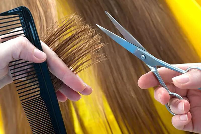 Mẹo 15: Tỉa tóc thường xuyên