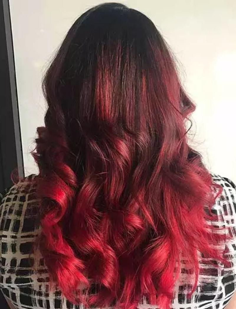 Tóc màu cherry