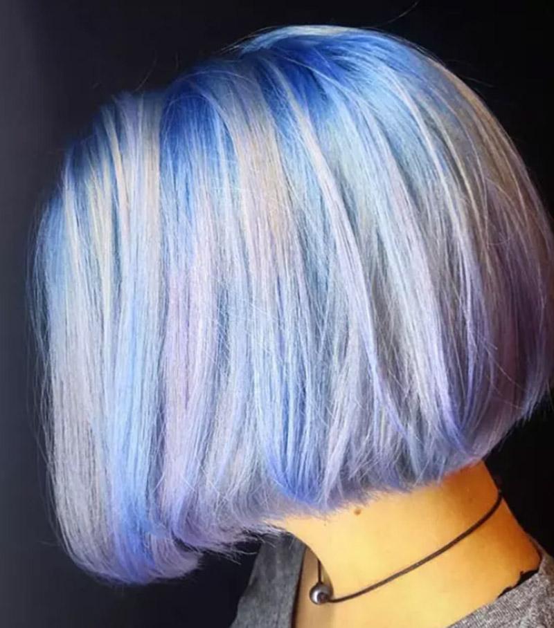 Tóc nhuộm màu Opal