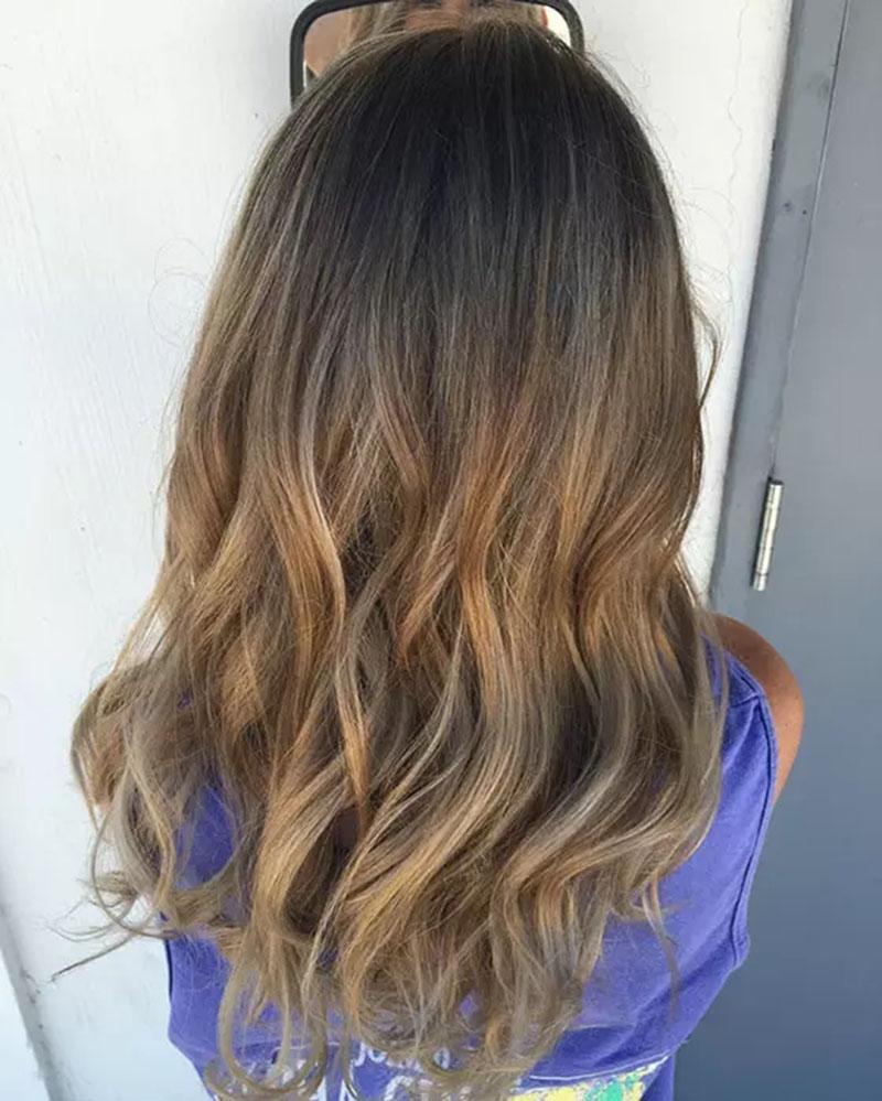 Tóc vàng đậm