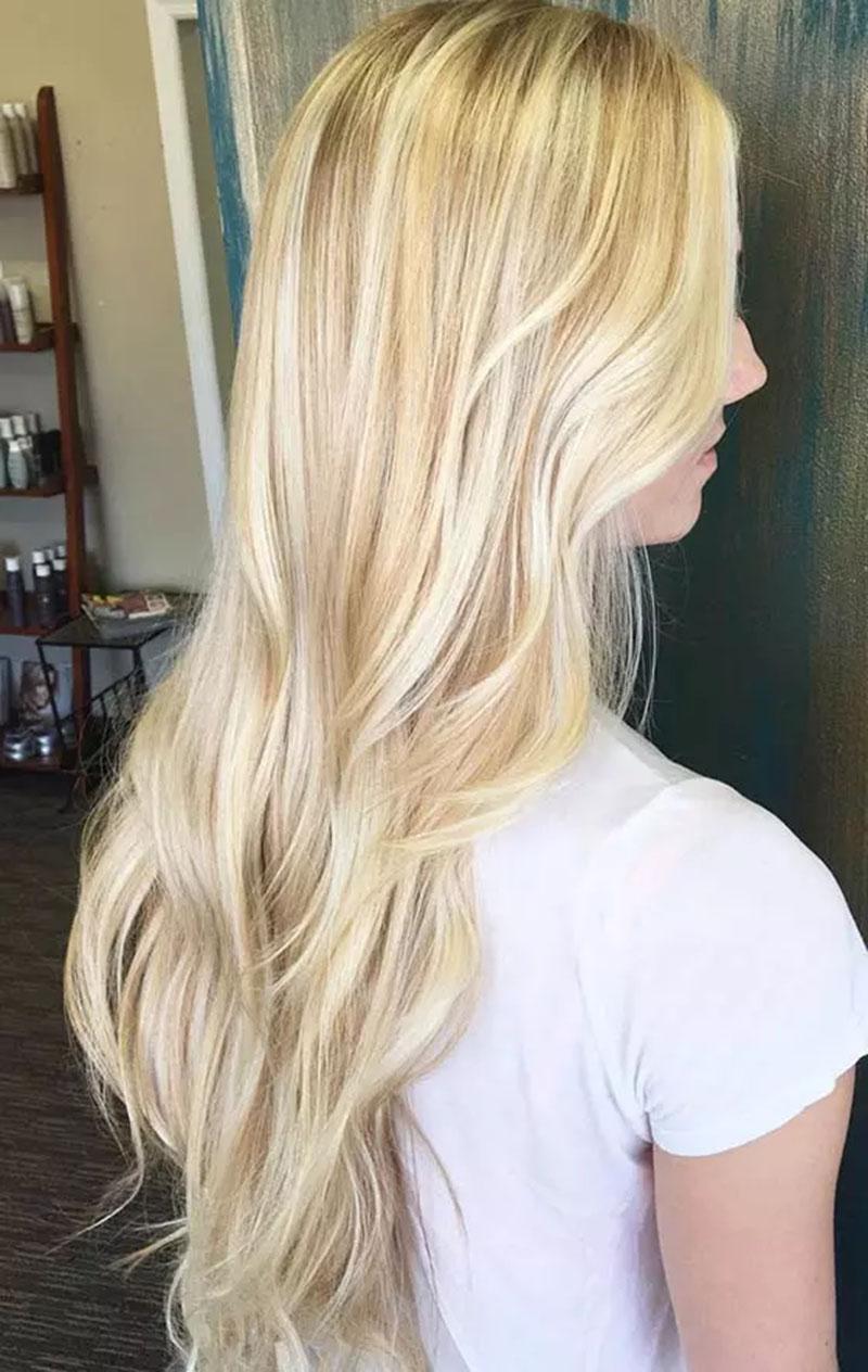 Tóc vàng Vanilla