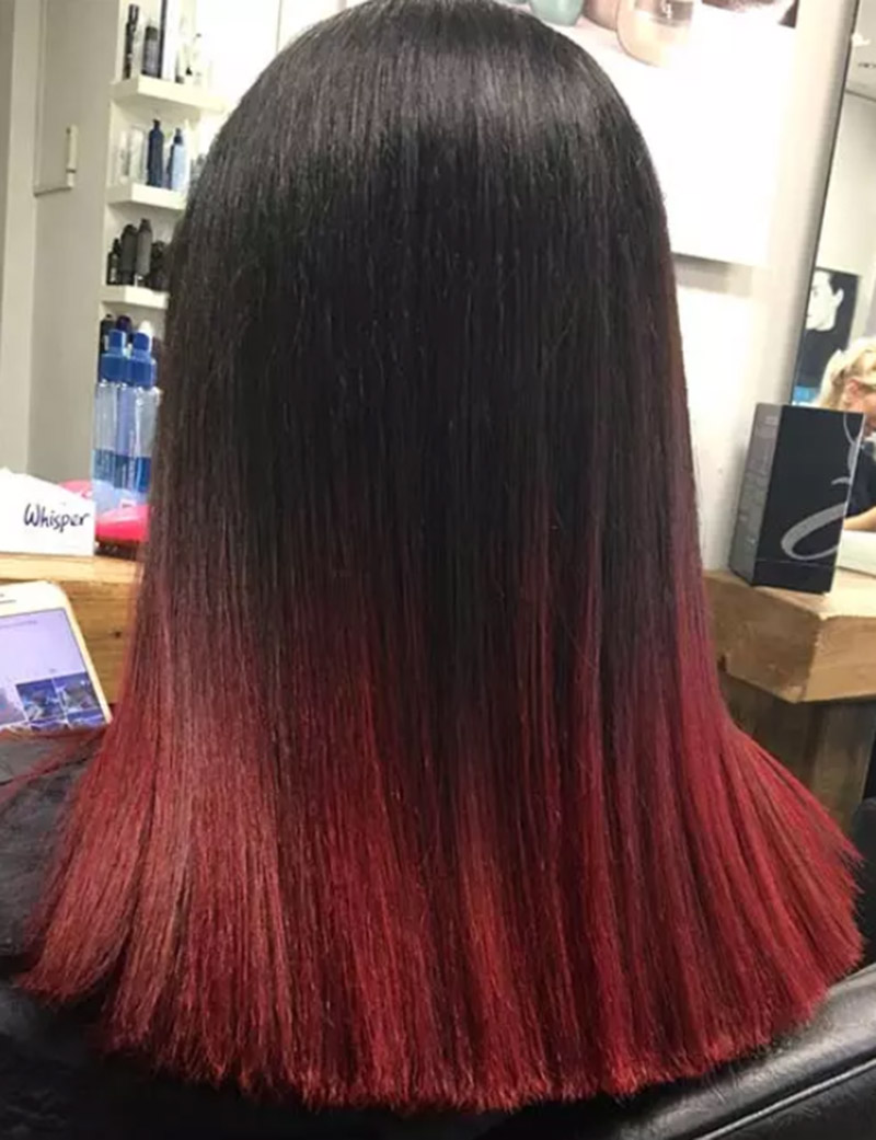 Tóc xoăn đỏ Berry