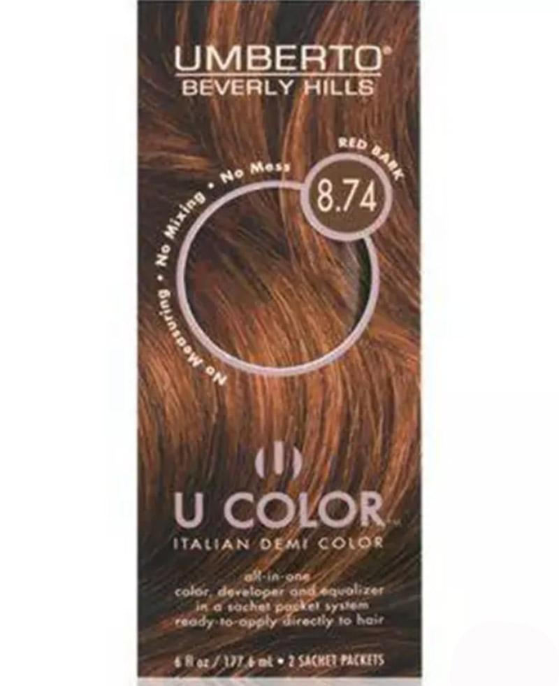 Umberto Beverly Hills U Color Italian Demi Color – 8.74 Red Bark