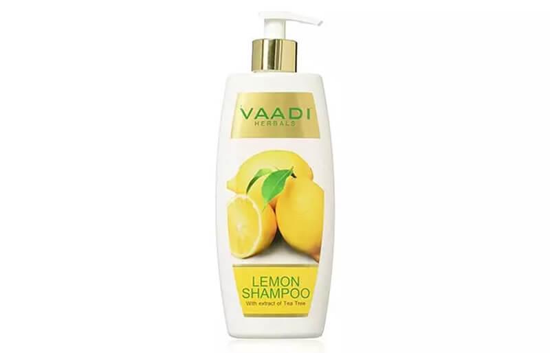 Vaadi Herbals Lemon Shampoo With Extract Of Tea Tree